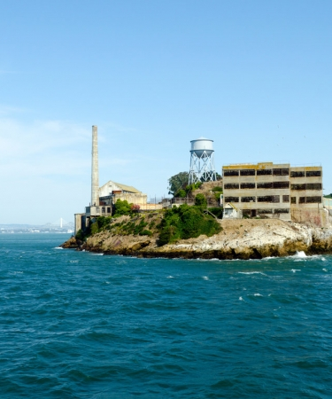 View of Alcatraz Island - a historic San Francisco attractions