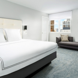 Stylish guest room at Hotel Union Square - A San Francisco hotel