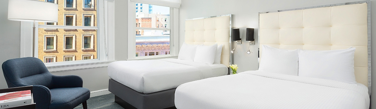 Deluxe Double Room at Hotel Union Square - a San Francisco Hotel