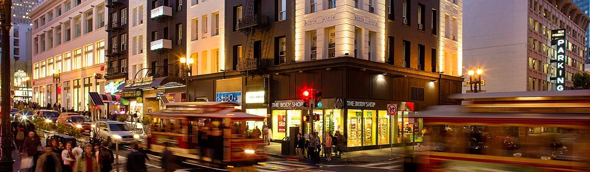Exterior of Hotel Union Square - A San Francisco Hotel