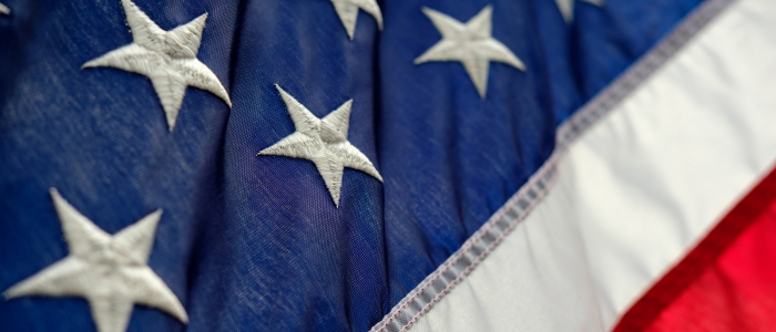 Detail of U.S. Flag
