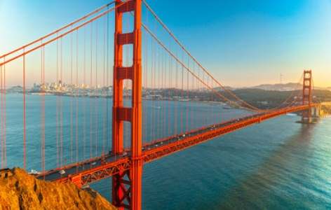 The Golden Gate Bridge - A San Francisco Attraction