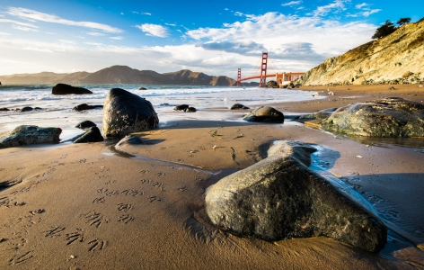 Lovely beach in San Francisco