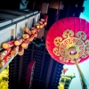 Hanging lantern in San Francisco's Chinatown